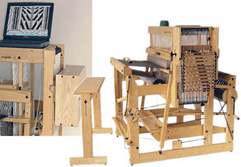 BOUNTIFUL - Spinning and Weaving: Computer Looms