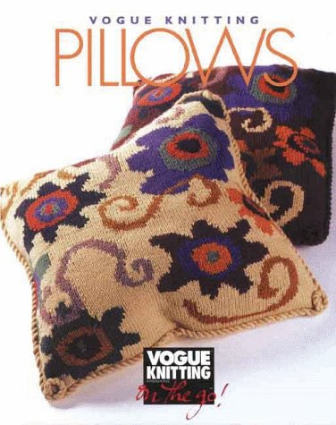 Bountiful Spinning And Weaving Vogue Knitting Pillows Oop 1495